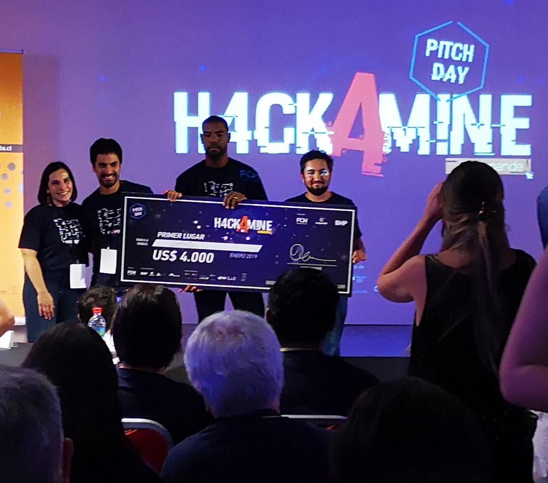DataQu, ganador de la primera hackathon realizada por Expande y BHP
